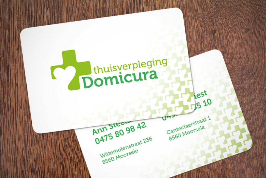 Domicura business cards