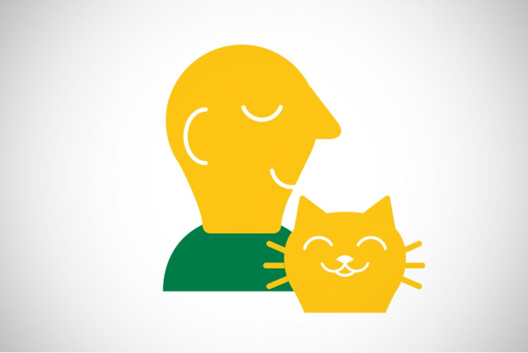 icoon segment huisdieren