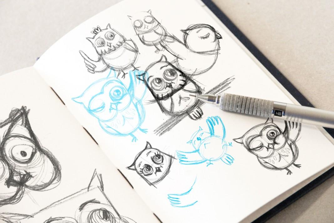 Outi - sketches