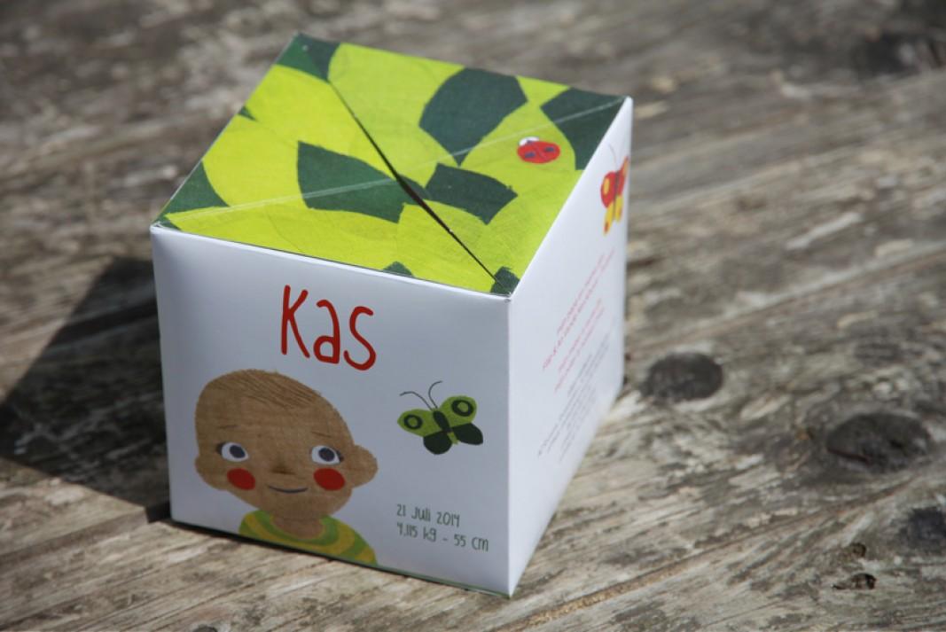 Birth card Kas