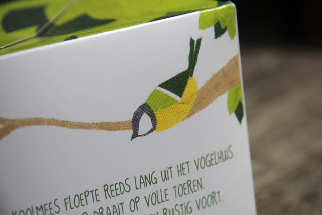 Birth card Kas detail