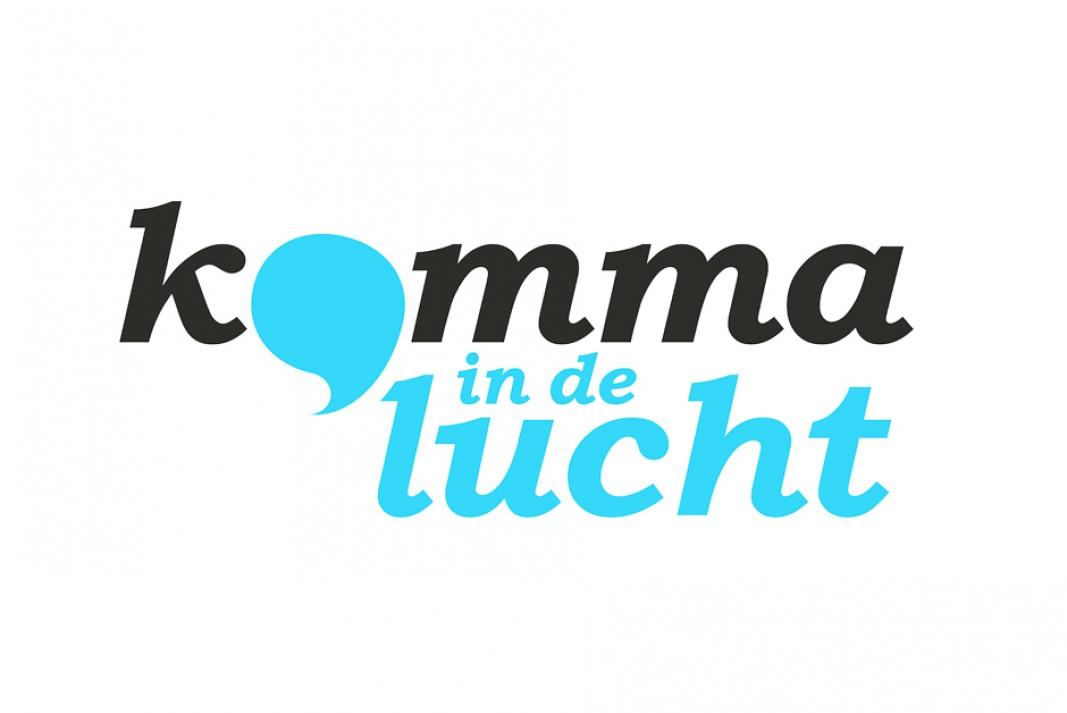 logo Komma in de lucht