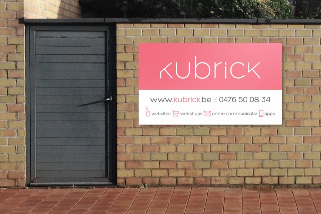 reclame paneel Kubrick