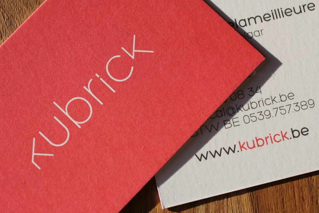 visitekaart Kubrick