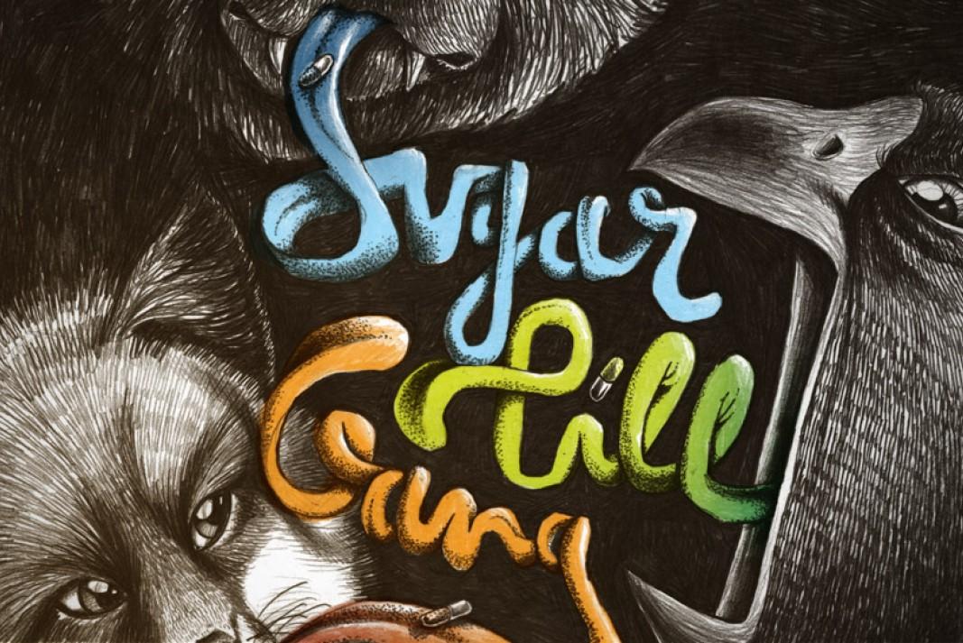Illustration Sugar Pill Gang album