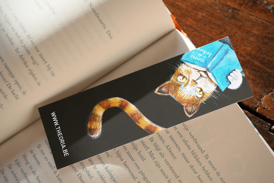 Theoria bookmark Tommie