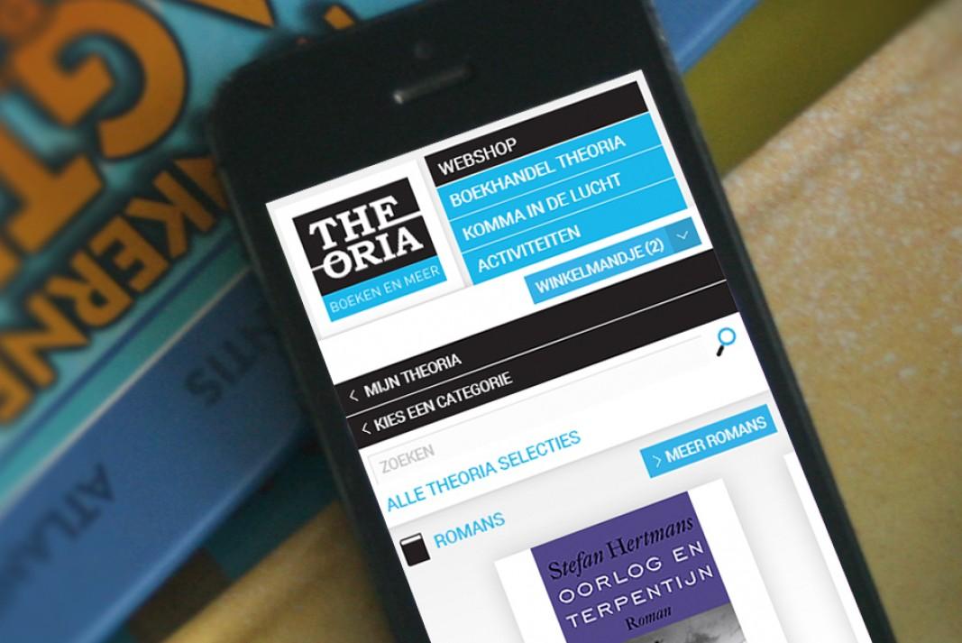Theoria website mobile responsive