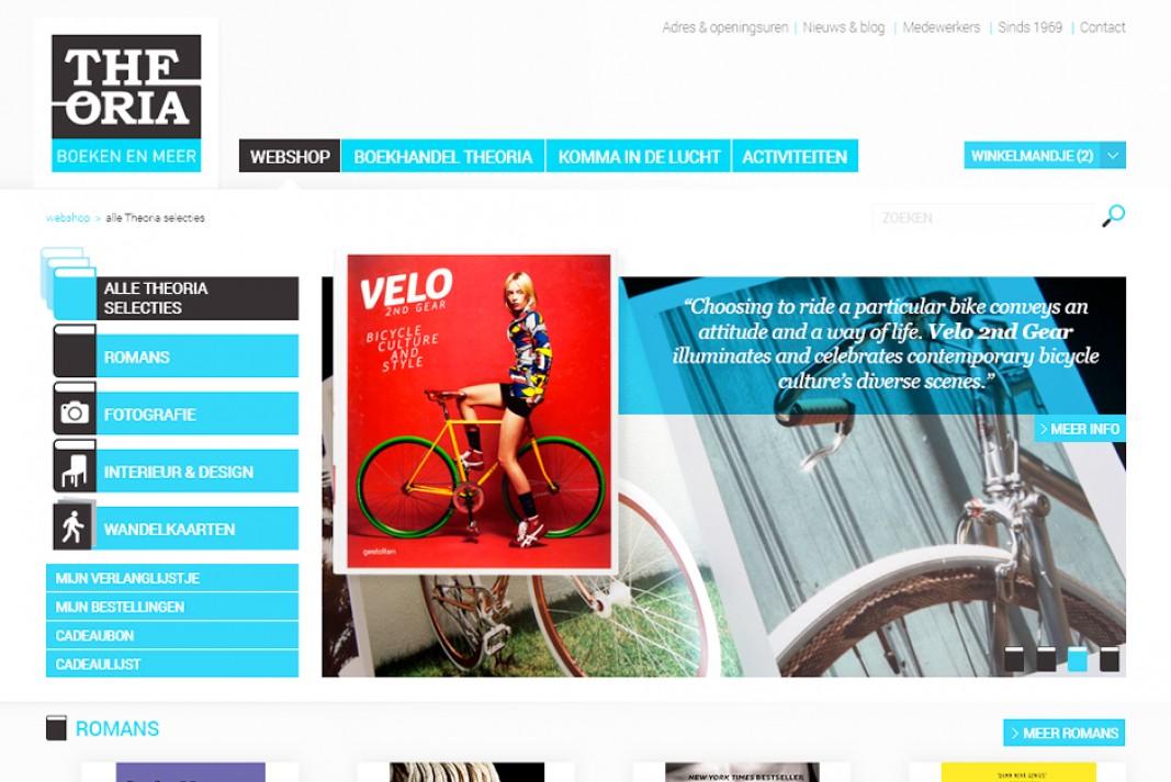 Theoria webdesign