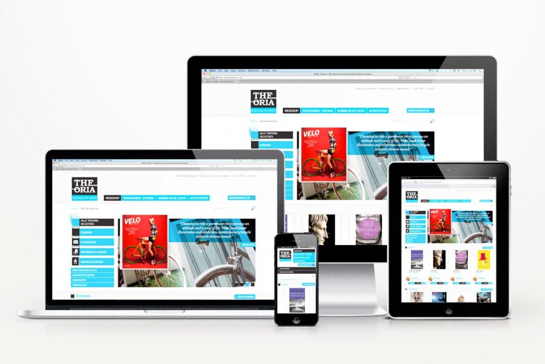 Theoria website responsive