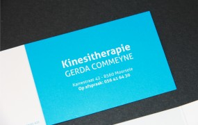business card Gerda Commeyne
